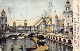 amp100741 - Amusement Park Postcard Post Card