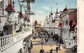 amp100742 - Amusement Park Postcard Post Card