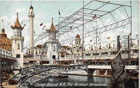 amp100746 - Amusement Park Postcard Post Card