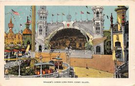 amp100755 - Amusement Park Postcard Post Card