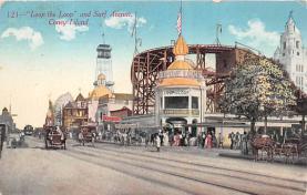 amp100756 - Amusement Park Postcard Post Card