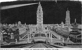 amp100762 - Amusement Park Postcard Post Card
