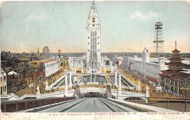amp100766 - Amusement Park Postcard Post Card