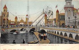 amp100768 - Amusement Park Postcard Post Card