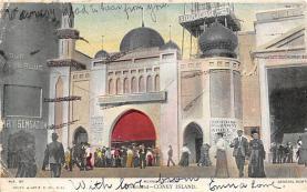 amp100773 - Amusement Park Postcard Post Card
