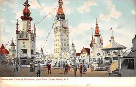 amp100775 - Amusement Park Postcard Post Card