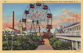amp100776 - Amusement Park Postcard Post Card
