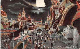 amp100795 - Amusement Park Postcard Post Card