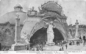 amp100811 - Amusement Park Postcard Post Card