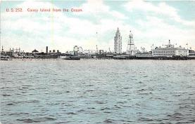 amp100821 - Amusement Park Postcard Post Card