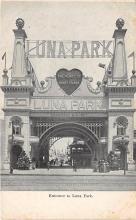 amp100822 - Amusement Park Postcard Post Card