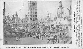 amp100824 - Amusement Park Postcard Post Card