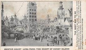 amp100850 - Amusement Park Postcard Post Card