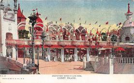 amp100855 - Amusement Park Postcard Post Card
