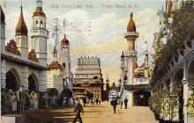 amp100859 - Amusement Park Postcard Post Card