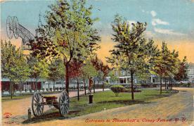 amp100860 - Amusement Park Postcard Post Card
