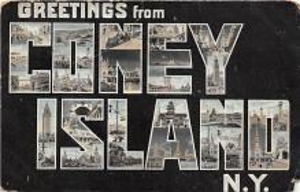 amp100862 - Amusement Park Postcard Post Card
