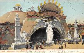 amp100870 - Amusement Park Postcard Post Card