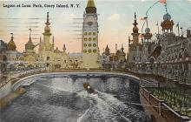 amp100873 - Amusement Park Postcard Post Card