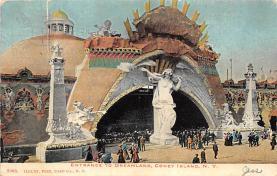 amp100878 - Amusement Park Postcard Post Card