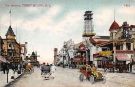 amp100880 - Amusement Park Postcard Post Card