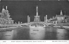 amp100892 - Amusement Park Postcard Post Card
