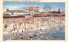 amp100893 - Amusement Park Postcard Post Card