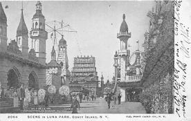 amp100895 - Amusement Park Postcard Post Card
