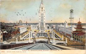 amp100898 - Amusement Park Postcard Post Card