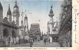 amp100899 - Amusement Park Postcard Post Card