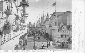 amp100900 - Amusement Park Postcard Post Card