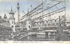 amp100903 - Amusement Park Postcard Post Card