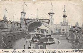 amp100904 - Amusement Park Postcard Post Card