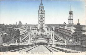 amp100906 - Amusement Park Postcard Post Card