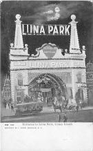 amp100913 - Amusement Park Postcard Post Card