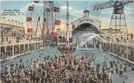 amp100918 - Amusement Park Postcard Post Card