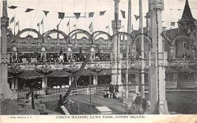 amp100919 - Amusement Park Postcard Post Card