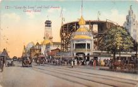amp100922 - Amusement Park Postcard Post Card