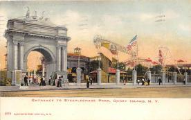 amp100924 - Amusement Park Postcard Post Card