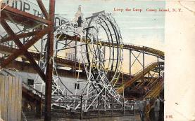 amp100935 - Amusement Park Postcard Post Card