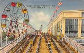 amp100943 - Amusement Park Postcard Post Card