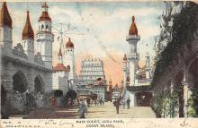 amp100969 - Amusement Park Postcard Post Card