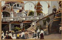 amp100984 - Amusement Park Postcard Post Card