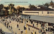 amp200003 - Crystal Beach, Canada Postcard