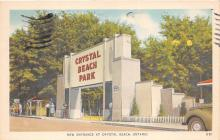 amp200004 - Crystal Beach, Canada Postcard