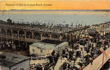 amp200007 - Crystal Beach, Canada Postcard