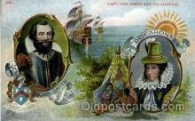 amr001038 - Captain John Smith and Pocahontas American History Postcard Post Card
