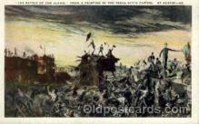 amr001042 - The Alamo American History Postcard Post Card