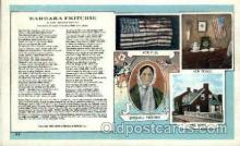 amr001044 - Barbara Fritchie American History Postcard Post Card
