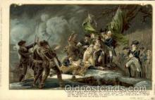 amr001063 - Death of General Montgomery, Dec. 31 1775 American History Postcard Post Card